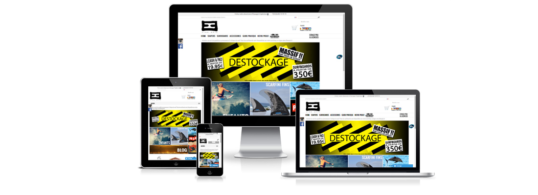 Création site internet responsive Likeepic